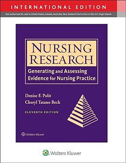 Kartonierter Einband Nursing Research, International Edition von Denise F. Polit, Cheryl Tatano Beck