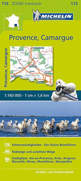Carte (de géographie) Provence, Camargue - Zoom Map 113 de Carte zoom 113