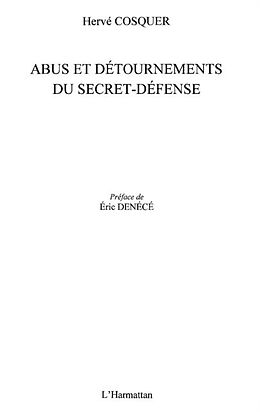 E-Book (pdf) Abus et detournements du secret-defense von Cosquer Herve
