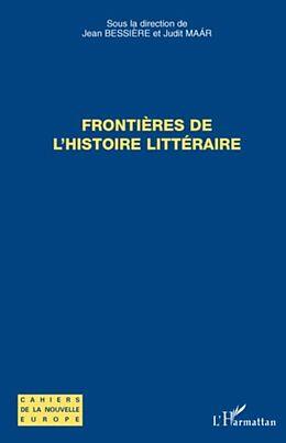 eBook (pdf) FrontiEres de l'histoire litteraire - cahiers de la nouvelle de