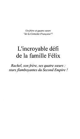eBook (pdf) La tribu Rachel de