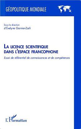 eBook (pdf) La licence scientifique dans l'espace francophone de