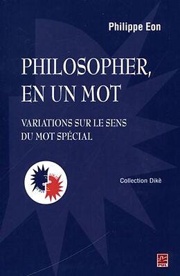eBook (pdf) Philosopher, en un mot de