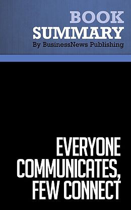 E-Book (epub) Summary: Everyone Communicates, Few Connect - John C. Maxwell von BusinessNews Publishing