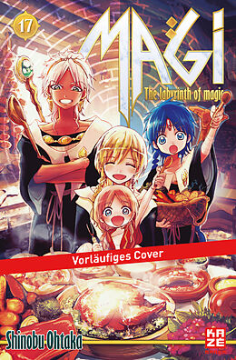 Magi - The Labyrinth of Magic 17 [Versione tedesca]