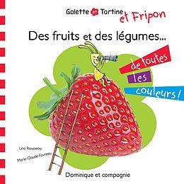E-Book (pdf) Des fruits et des legumes de toutes les couleurs ! von Lina Rousseau