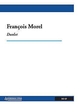 Francois Morel Notenblätter Duolet für 2 Flöten