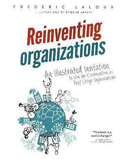Couverture cartonnée Reinventing Organizations de Frédéric Laloux