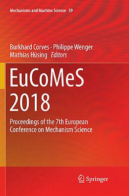 Kartonierter Einband EuCoMeS 2018 von