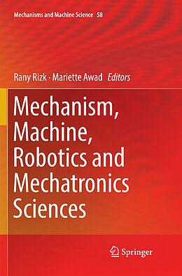 Kartonierter Einband Mechanism, Machine, Robotics and Mechatronics Sciences von