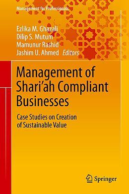 E-Book (pdf) Management of Shari'ah Compliant Businesses von