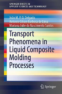 Kartonierter Einband Transport Phenomena in Liquid Composite Molding Processes von Antonio Gilson Barbosa de Lima, João M. P. Q. Delgado, Mariana Julie Do Nascimento Santos