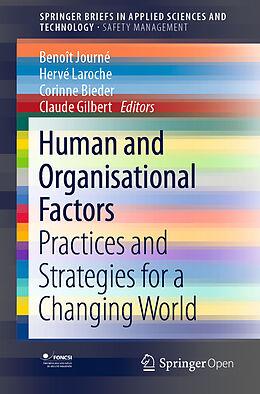 Kartonierter Einband Human and Organisational Factors von
