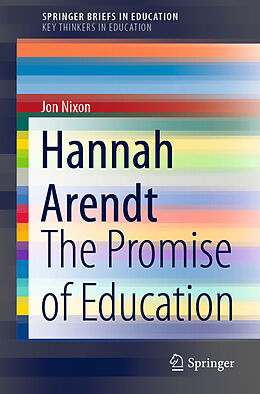 E-Book (pdf) Hannah Arendt von Jon Nixon