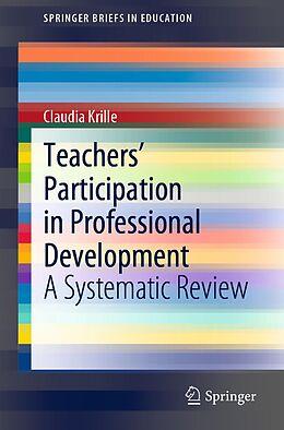 E-Book (pdf) Teachers' Participation in Professional Development von Claudia Krille