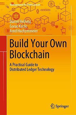 E-Book (pdf) Build Your Own Blockchain von Daniel Hellwig, Goran Karlic, Arnd Huchzermeier