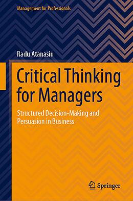 E-Book (pdf) Critical Thinking for Managers von Radu Atanasiu