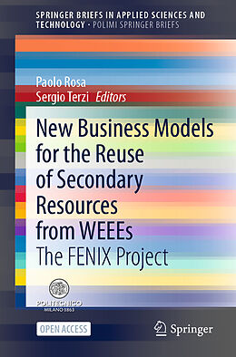 Kartonierter Einband New Business Models for the Reuse of Secondary Resources from WEEEs von