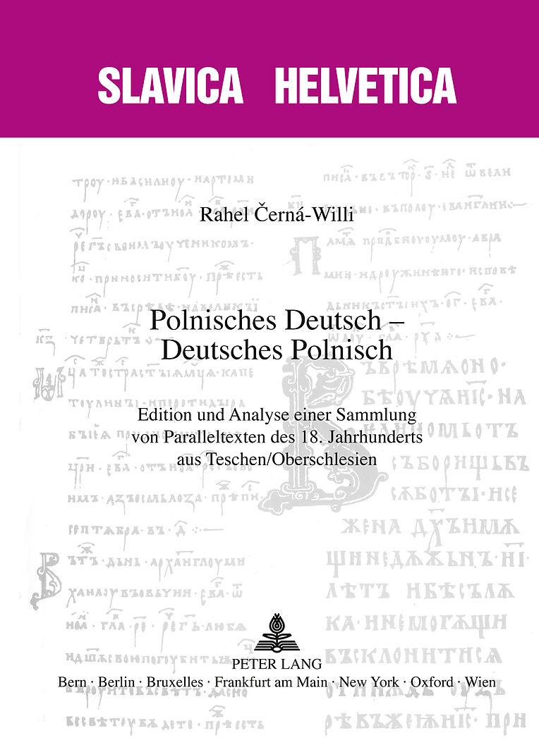 Polnisches Deutsch Deutsches Polnisch Rahel Cerná Willi Buch
