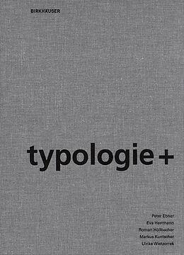 Leinen-Einband Typologie+ von