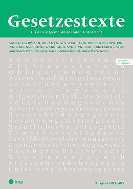 Fester Einband Gesetzestexte 2021/2022 (Print inkl. eLehrmittel, Neuauflage) von