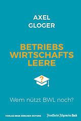 Betriebswirtschaftsleere [Version allemande]