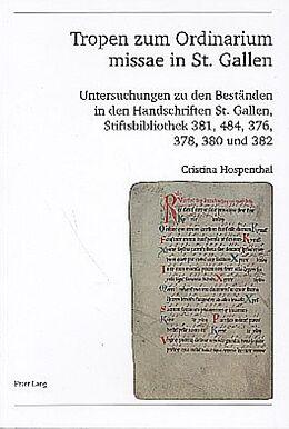 Tropen zum Ordinarium missae in St. Gallen [Version allemande]