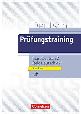 Kartonierter Einband Prüfungstraining DaF, A2, telc Deutsch A2, Übungsbuch mit Audio- und Lösungs-Download von Dieter Maenner