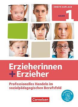 Fester Einband Erzieherinnen + Erzieher - Neubearbeitung - Band 1 von Brit Albrecht, Susanne Baum, Carola Behrend