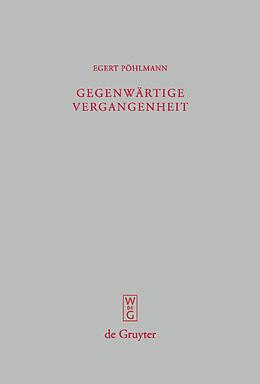E-Book (pdf) Gegenwärtige Vergangenheit von Egert Pöhlmann