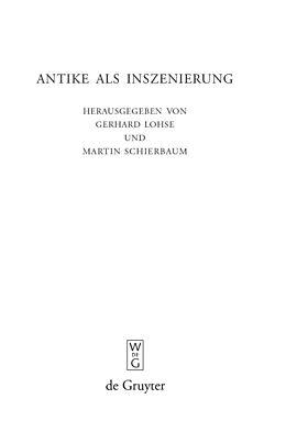 E-Book (pdf) Antike als Inszenierung von