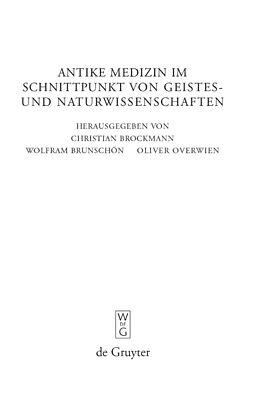 E-Book (pdf) Antike Medizin im Schnittpunkt von Geistes- und Naturwissenschaften von