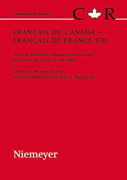 eBook (pdf) Français du Canada - Français de France VIII de