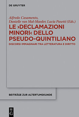 Fester Einband Le >Declamazioni Minori< dello Pseudo-Quintiliano von