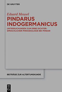 Fester Einband Pindarus Indogermanicus von Eduard Meusel