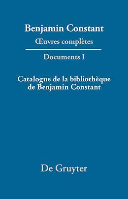 eBook (pdf) Catalogue de la bibliothèque de Benjamin Constant de