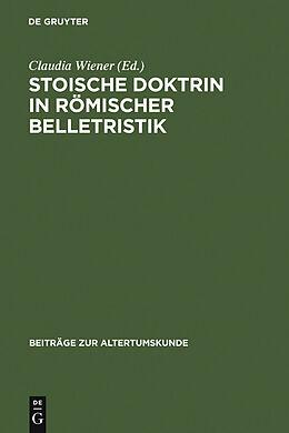 E-Book (pdf) Stoische Doktrin in römischer Belletristik von
