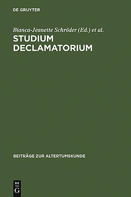 E-Book (pdf) Studium declamatorium von