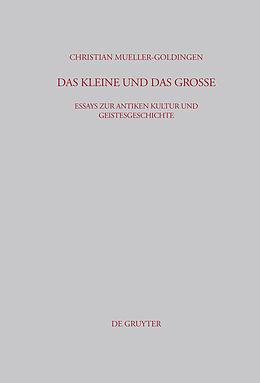 E-Book (pdf) Das Kleine und das Große von Christian Mueller-Goldingen