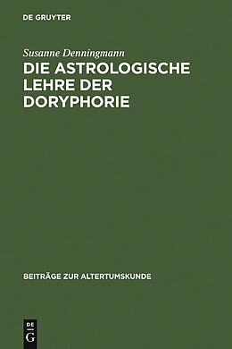 E-Book (pdf) Die astrologische Lehre der Doryphorie von Susanne Denningmann