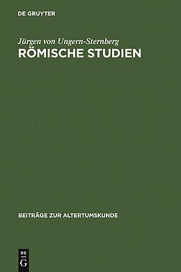 E-Book (pdf) Römische Studien von Jürgen von Ungern-Sternberg