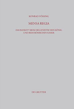E-Book (pdf) Mensa Regia von Konrad Vössing