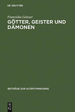 E-Book (pdf) Götter, Geister und Dämonen von Franziska Geisser