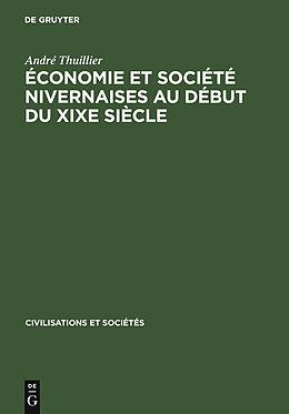 eBook (pdf) Économie et société nivernaises au début du XIXe siècle de André Thuillier
