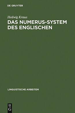 E-Book (pdf) Das Numerus-System des Englischen von Hedwig Kraus
