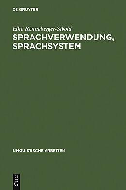 E-Book (pdf) Sprachverwendung, Sprachsystem von Elke Ronneberger-Sibold