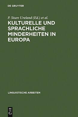 E-Book (pdf) Kulturelle und sprachliche Minderheiten in Europa von