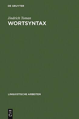 E-Book (pdf) Wortsyntax von Jindrich Toman