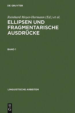 E-Book (pdf) Ellipsen und fragmentarische Ausdrücke von