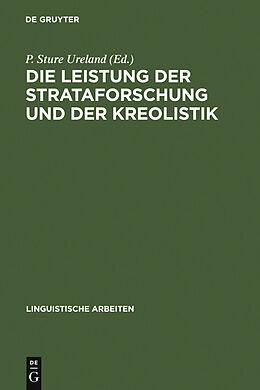 E-Book (pdf) Die Leistung der Strataforschung und der Kreolistik von